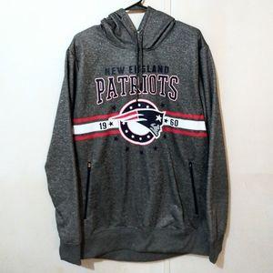**NWOT** NFL Team Apparel New England Patriots Hooded Sweatshirt